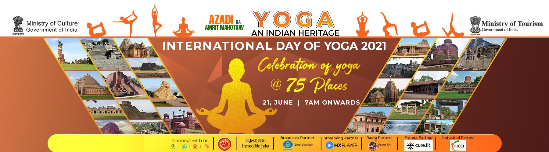 Yoga Day 2021 Website Banner